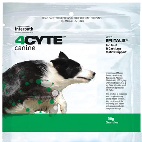 4Cyte Granules Canine 50g