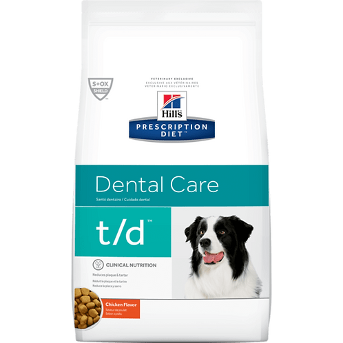 Hills Prescription T/D Canine Chicken 2.25kg