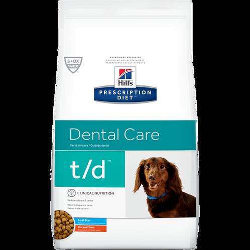 Hills Prescription T/D Canine Small Bites 2.25kg