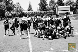 98 boys Black and white pic