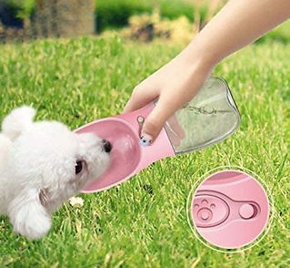 Dog Cat Travel Water Bottle