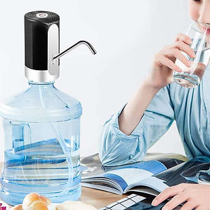 Automatic Water Dispenser, USB Rechargeable Bottle Drinking Water Radio Water Pump