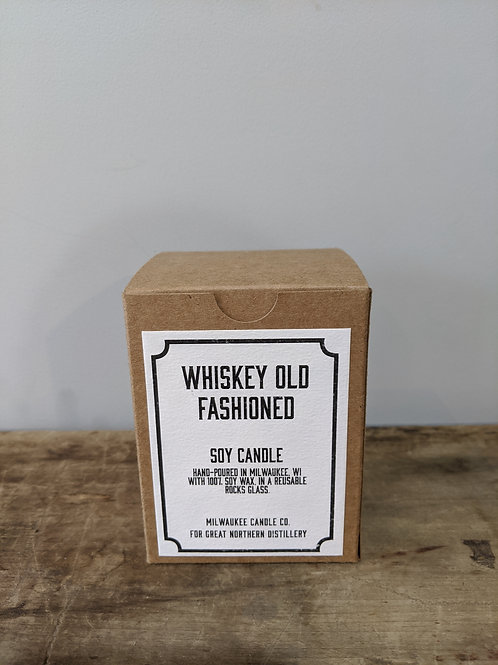 Milwaukee Candle Co. Whiskey Old Fashioned Soy Candle