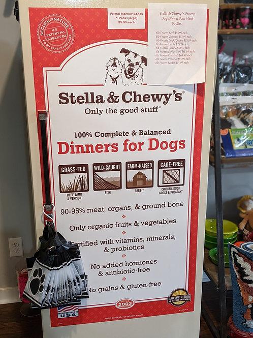 Stella & Chewys 6lb Raw Meat Packs