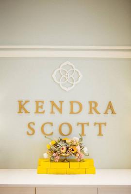 Flowers at Kendra Scott event