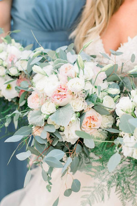 Bridal and bridal party bouquets
