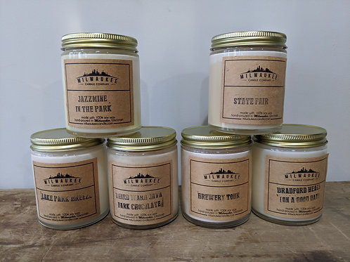 Milwaukee Candle Co Hometown Collection