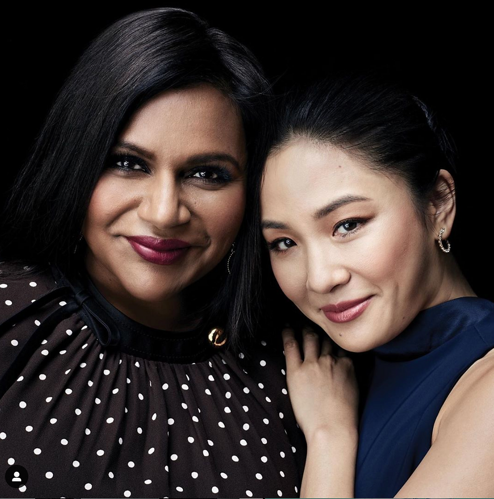 Mindy Kaling and Constance Wu