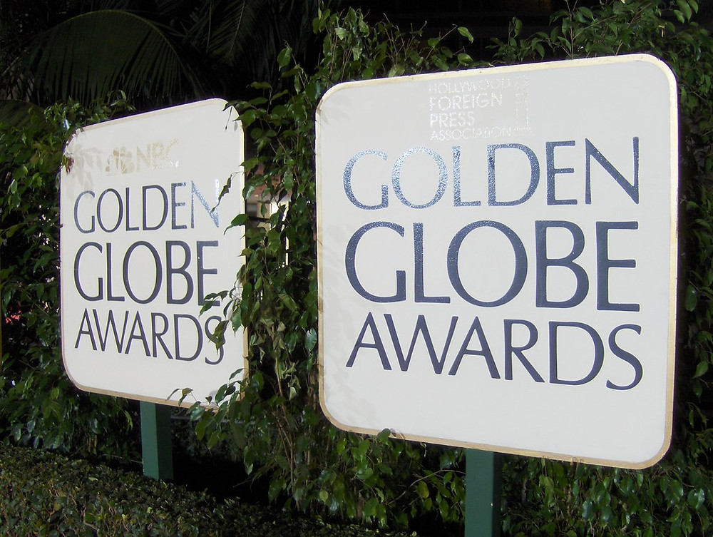 Golden Globes Awards sign