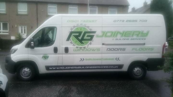 RG Joinery - Van