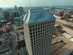 Downtown Orlando Aerial