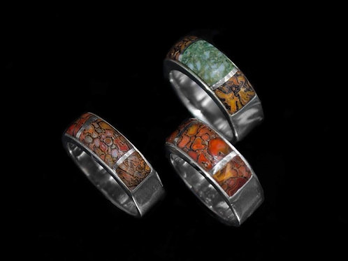 Inlay Ring Band (Custom Order)