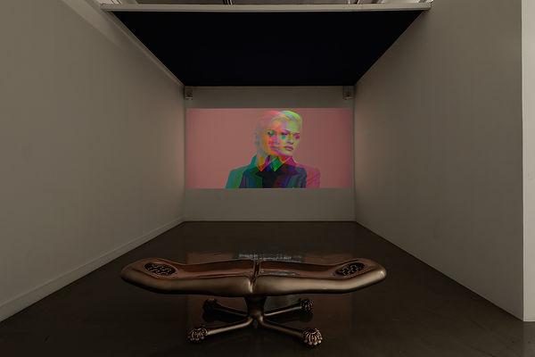 Exhibition view_Brossard _ Villard, Roqu