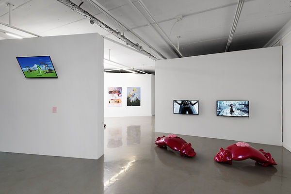 Exhibition view_Glynn, Brossard _ Villar