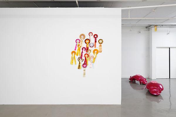 Exhibition view_Brossard _ Villard, Arne