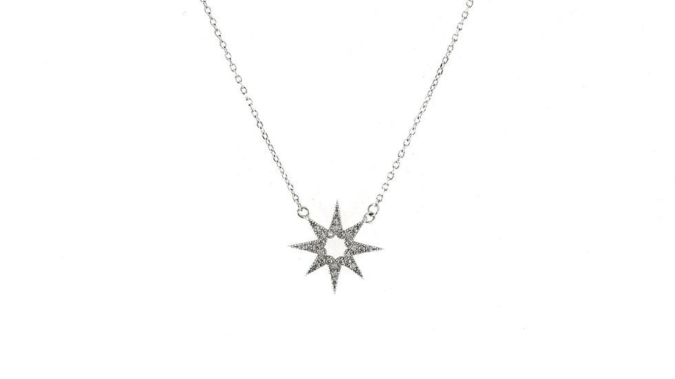 Collar Estrella y Zirconias