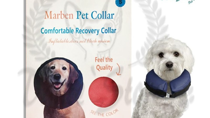 Collar Isabelino inflable Marben