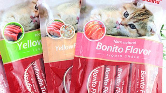 Bioline líquid snack varios sabores