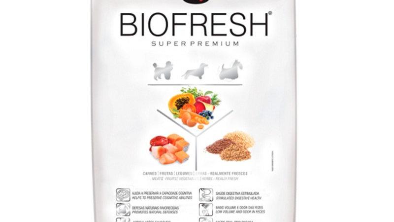Biofresh Super Premium para perros senior raza mini y pequeña