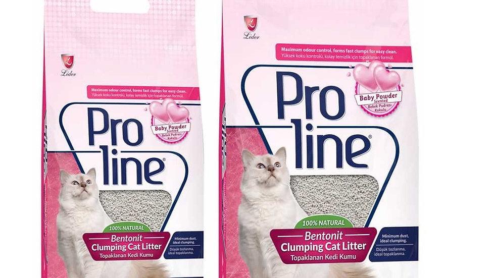 Promoción 3 sacos de arena sanitaria ProLine 8.5 kilos