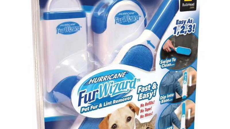 Hurricane Furwizard cepillo eliminador pelo