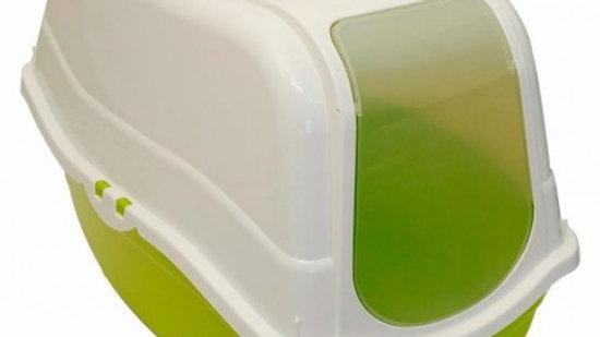 Promoción baño sanitario cerrado + arena aglutinante 4.25 kilos