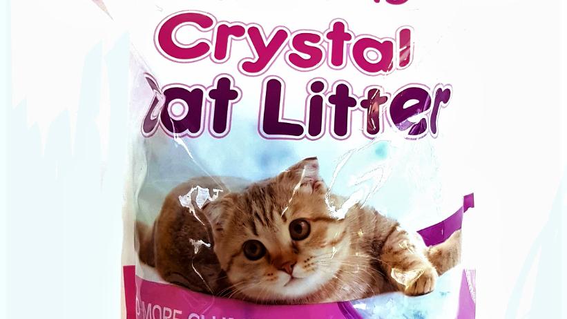 Crystal litter arena sanitaria cristales