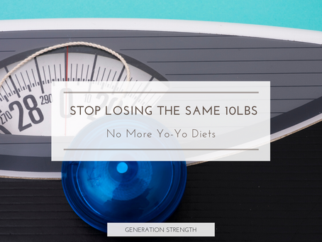 How to stop losing the same 10lbs