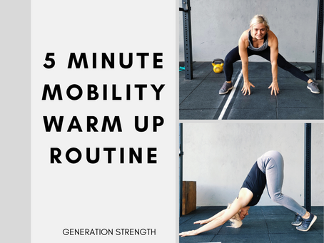 The Full-Body Warm-Up: Mobility Series (5 Minutes)