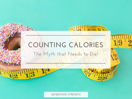 Stop counting calories, it's ruining your health