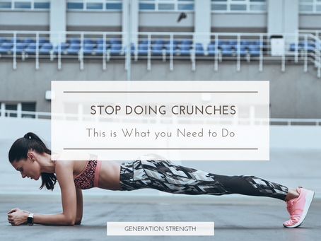 How to really get abs, it doesn't involve crunches