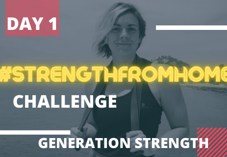 30 Day StrengthFromHome Workout Challenge