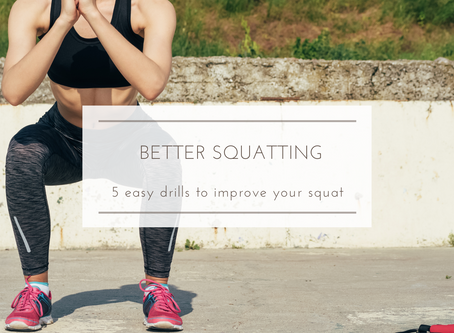 5 Drills to Better Squatting