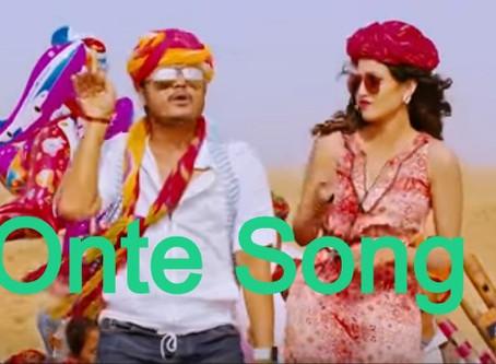 Onte Song Lyrics - Mungaru male 2/kannada movie