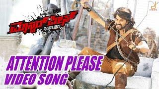 Attention Please Lyrics - Masterpiece kannada movie/yash