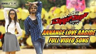 Annange Love Aagide Lyrics - Masterpiece kannada movie