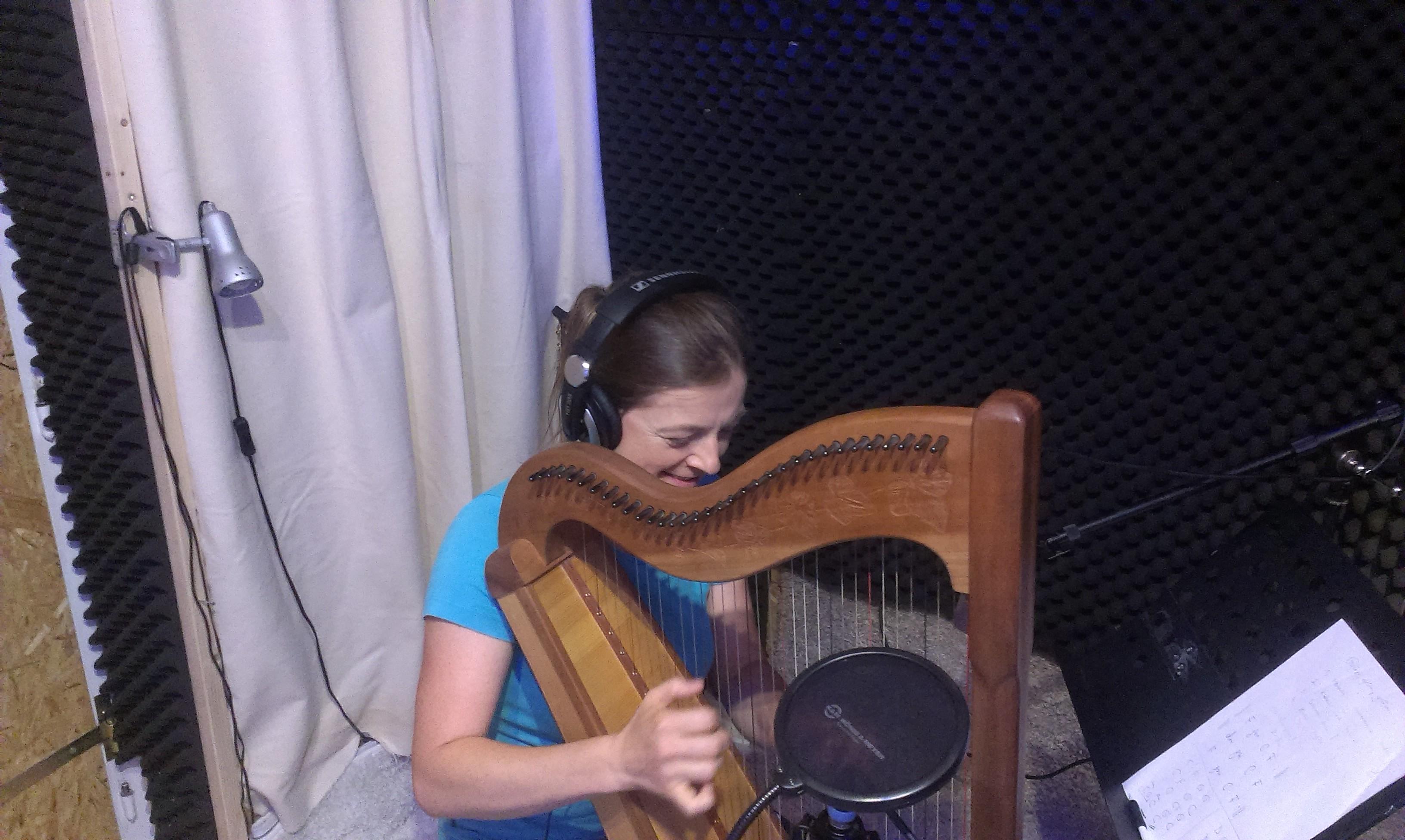 Trudi Janscha - Harfe