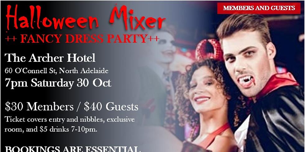 Halloween Fancy Dress Mixer