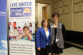 Christa Collier, NBUW Executive Director and Patti Messina, Office Manager and Resource Coordinator