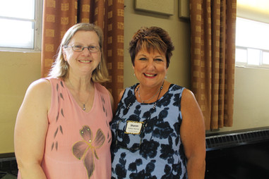 Susan King and Sharon DeMyer Nemser