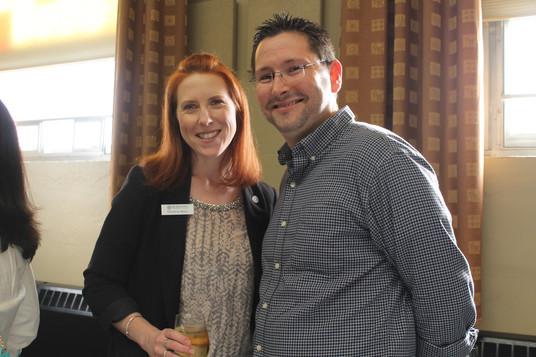 Christina Wynn and Brian Belanger