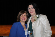 Christa with Honoree Christine Hoyt