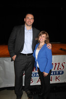 NBUW Executive Director Christa Collier and Board President Jason Dohaney