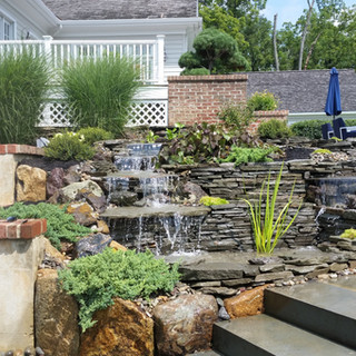 pondless waterfall after