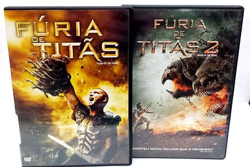 Fúria de Titãs 1 + Fúria de Titãs 2