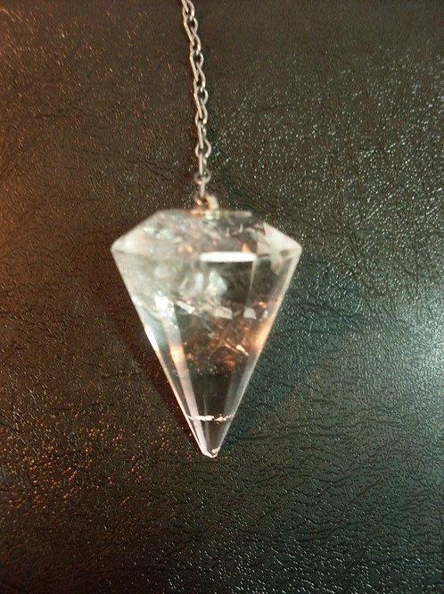 Pêndulo de Pedra Cristal