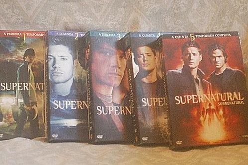 Supernatural Box das 5 Temporadas