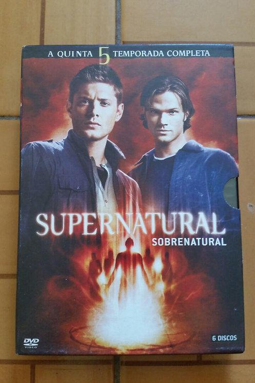Supernatural As 5 Temporadas Avulsas