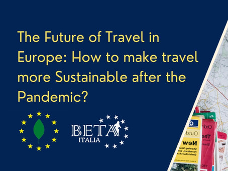 The future of Travel in Europe: How to make travel more sustainable after the pandemic?