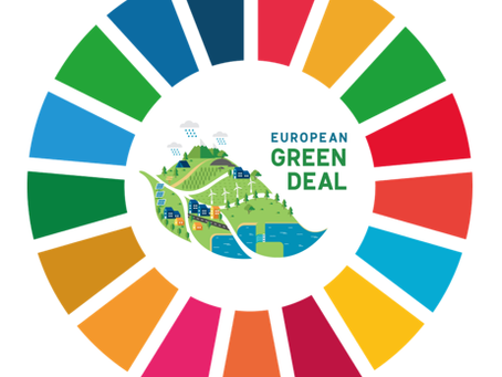 How does the EU Green Deal contribute to the UN SDGs?